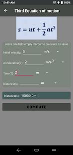 Physics calculator - calculators & formulas
