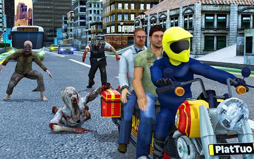 Bus Bike Taxi Driver u2013 Transport Driving Simulator  screenshots 6
