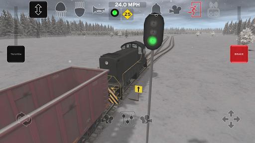 Train and rail yard simulator  screenshots 1