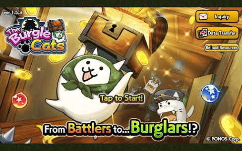 The Burgle Cats MOD APK (Unlimited Money) Download 1