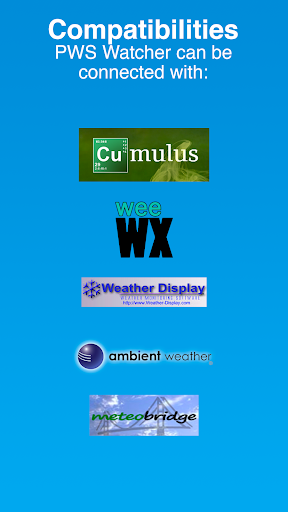PWS Watcher u26c5ufe0f Personal Weather Station Monitoring 1.10.11 Screenshots 4