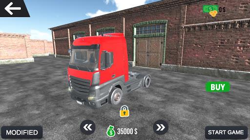Code Triche Jeu de simulateur de camion apk mod screenshots 2