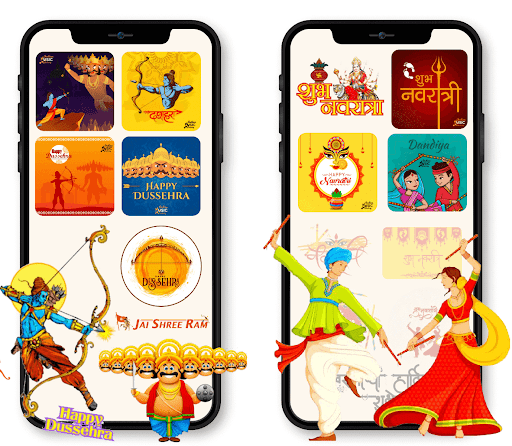All God Godness Stickers Happy Navratri Durga Mata Apkfinish screenshots 2