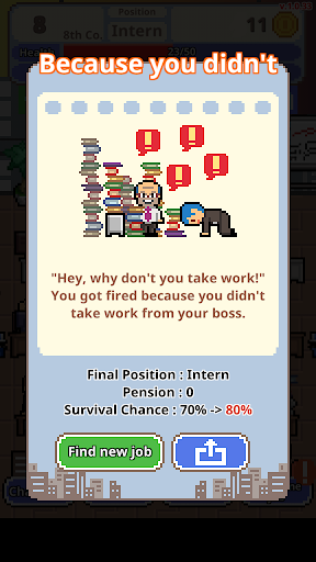 Don't get fired! modavailable screenshots 3