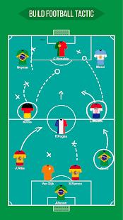 Football Squad Builder - Strategy, Tactic, Lineup 2.6.7 Screenshots 10