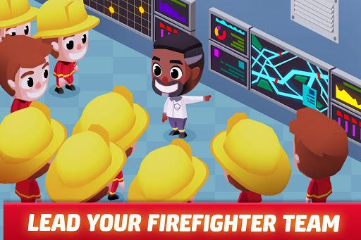 Idle Firefighter Tycoon - Fire Emergency Manager apktram screenshots 3