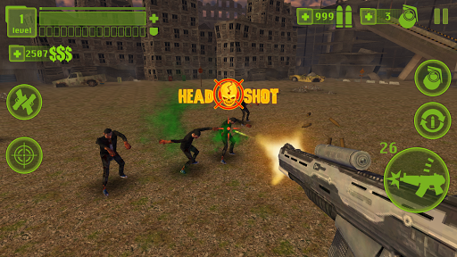 Télécharger Zombie Hell 3 : Last Stand - FPS Shooter  APK MOD (Astuce) screenshots 1