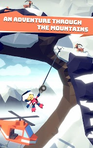 Hang Line: Mountain Climber Mod 1.7.7 Apk [Free Shopping] 2