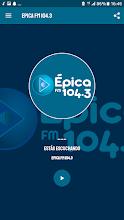 Epica FM104.3 screenshot thumbnail