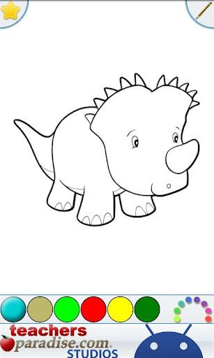 Dinosaurs Coloring Book screenshots 6