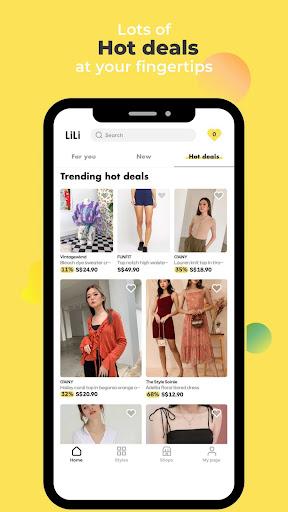 LiLi Style - All Fashion Shops Apkfinish screenshots 8