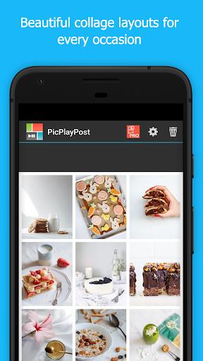 PicPlayPost Collage Maker, Slideshow, Video Editor 3.81.0_g_g Screenshots 1