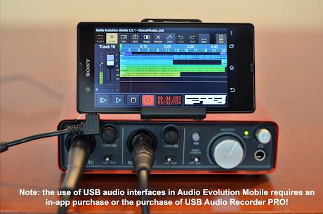 Audio Evolution Mobile Studio MOD APK 5.0.1.7 (Paid for free) 5