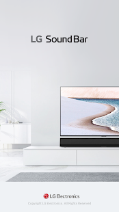 LG Sound Bar Screenshot