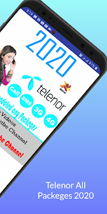 Telenor All Packages 2021 Call, Sms,Internet 2.9 APK screenshots 2
