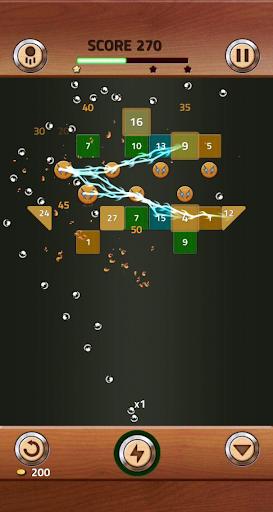 Brick Breaker Wood 1.0.0.11 screenshots 17