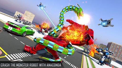 Anaconda Robot Car Games: Mega Robot Games 1.9 screenshots 22