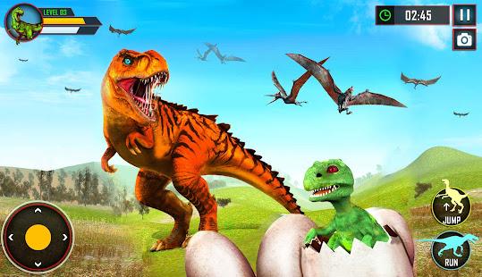 Wild Dino Family Simulator: Dinosaur Games 1.0.15 Screenshots 13