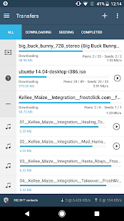 FrostWire: Torrent Downloader & Music Player Screenshot
