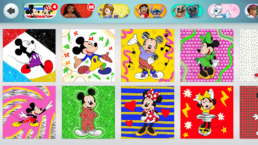 Disney Coloring World - Color & Play Kids Games 7.1.0 screenshots 8
