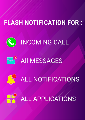 Flash notification on Call & all messages 10.3 Screenshots 2