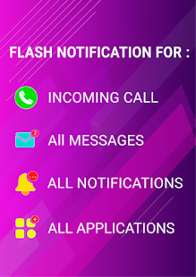 Flash notification on Call & all messages 10.9 Screenshots 2