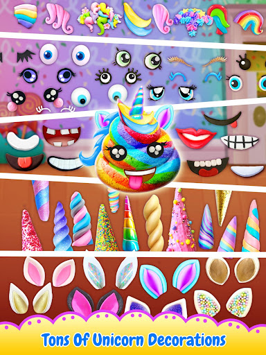 Unicorn Poop - Sweet Trendy Desserts Food Maker 1.6.2 screenshots 11