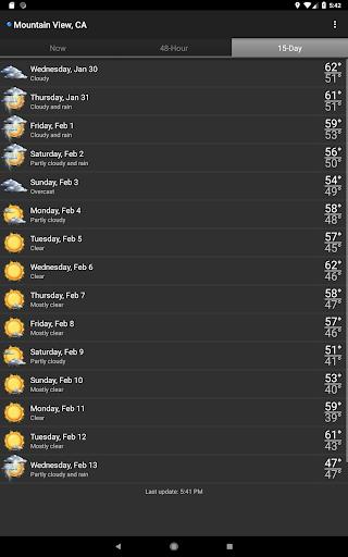 Palmary Weather  Screenshots 10