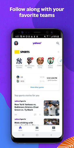Yahoo - News, Mail, Sports Apkfinish screenshots 4