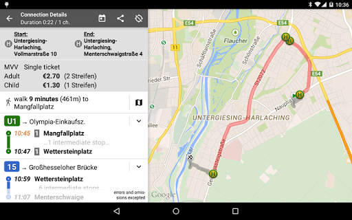 Offi - Journey Planner  screenshots 12