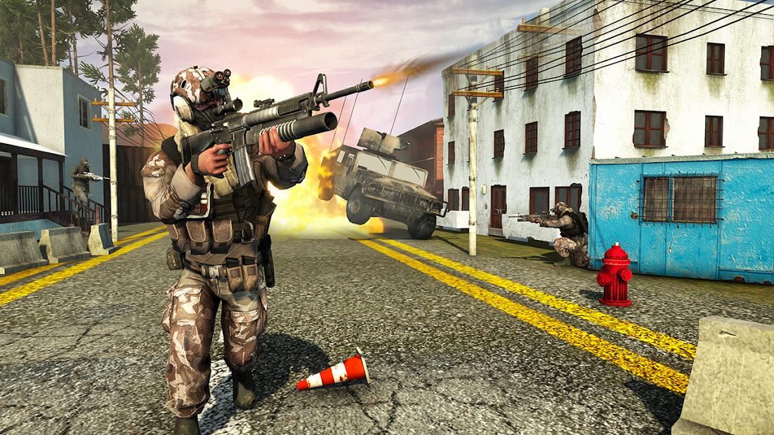 War Commando 3D - New Action Games 2021 screenshot 12