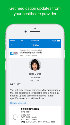 MyMedSchedule Plus 1.1.45 Screenshots 1