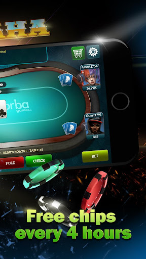 Live Poker Tablesu2013Texas holdem and Omaha 5.2.7 screenshots 4