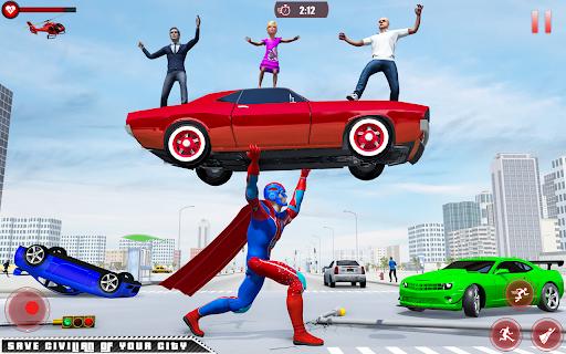 Flying Robot Superhero: Rescue City Survival Games 1.22 Screenshots 8