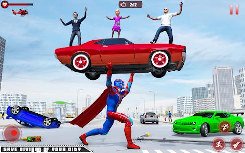 Flying Robot Superhero: Rescue City Survival Games 2