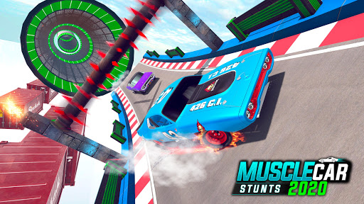 Muscle Car Stunts 2020: Mega Ramp Stunt Car Games 1.2.2 screenshots 8