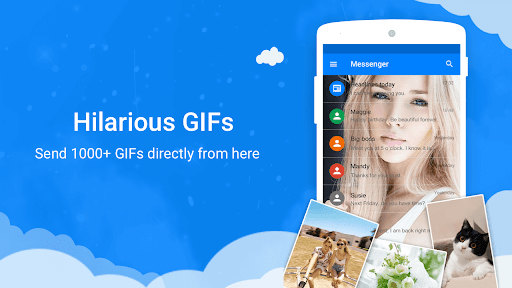 Messages - Messenger for SMS App android2mod screenshots 13