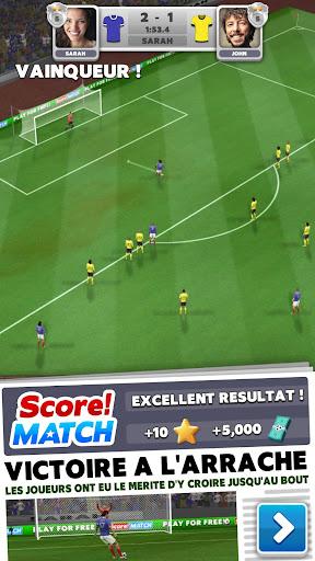 Télécharger Gratuit Score! Match - Football PvP APK MOD (Astuce) screenshots 1