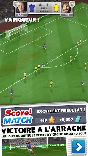 Score! Match - Football PvP APK MOD – ressources Illimitées (Astuce) screenshots hack proof 1