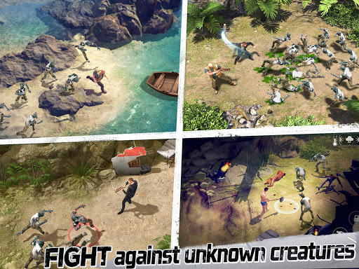 LOST in Blue: Survive the Zombie Islands apktram screenshots 8