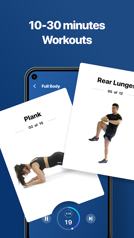 Fitify: Workout Routines & Training Plans  poster 3