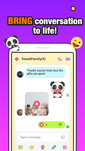JusTalk Kids - Safe Video Chat and Messenger apktram screenshots 4
