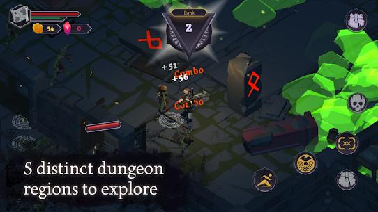Dread Rune: Roguelike Dungeon Crawler Mod Apk 0.44.7 (God Mode + Unlimited Diamonds) 2