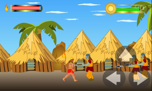 Hanuman the ultimate game apktram screenshots 2