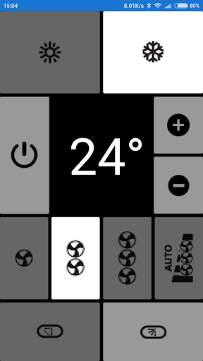 Electra AC Remote, as seen in picture! NO settings  Screenshots 2