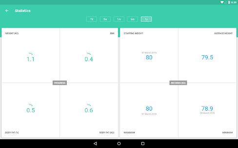 BMI and Weight Tracker Pro Apk (Mod/Lite) 9