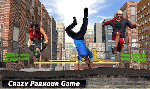 City Rooftop Parkour 2019: Free Runner 3D Game 1.3 APK screenshots 2
