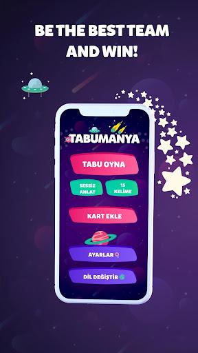 TABUMANIA 2021 Taboo Game Heads Up Tabu Charades 2.2 Screenshots 1