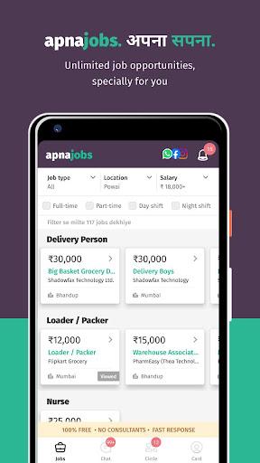 apna - Job Search | Job Groups | Rozgaar 2020.11.23 screenshots 2