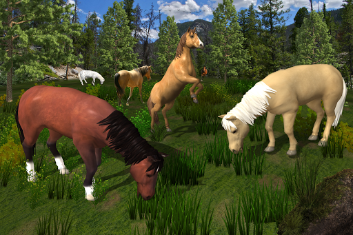 Ultimate Horse Family Survival Simulator apkdebit screenshots 4